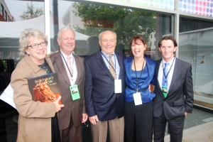 Kate, Charlie Stone, Bill Nack, Leeanne, Tom Foley